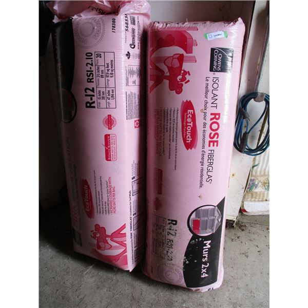 2X The Money - 2 bags of R-12 insulation (15x47x3.5)