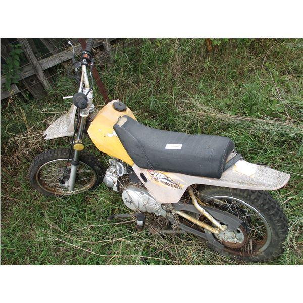 Vintage dirt bike (for parts) baja