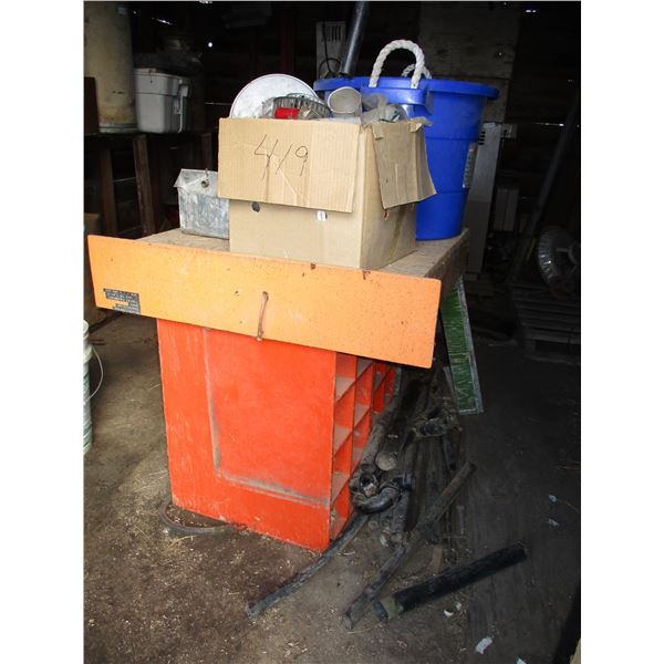 feed tube, abs pipe, organizers (large lot)
