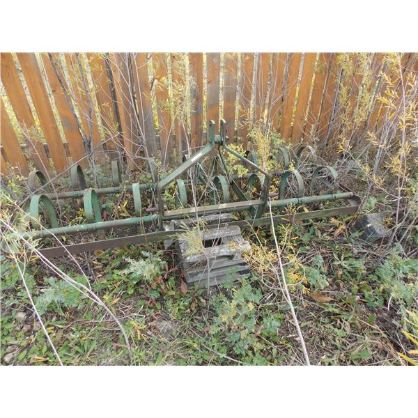 8ft 3 point hitch spring tooth cultivator