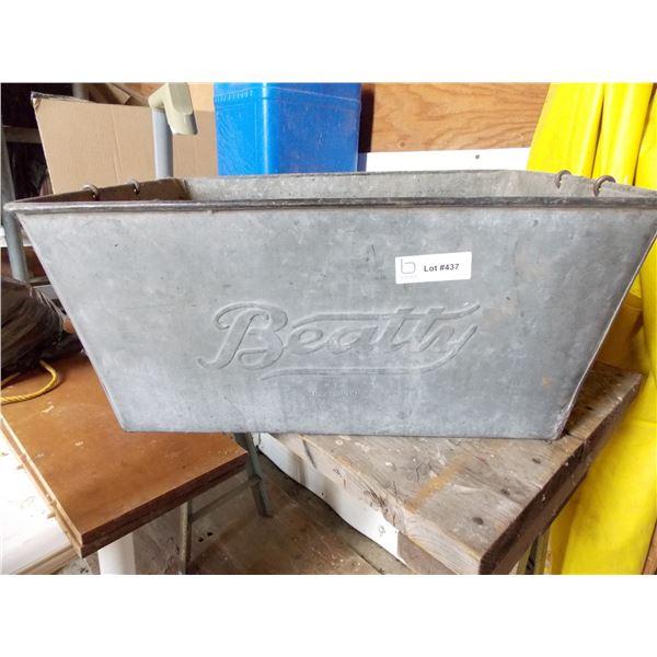 beatty washtub