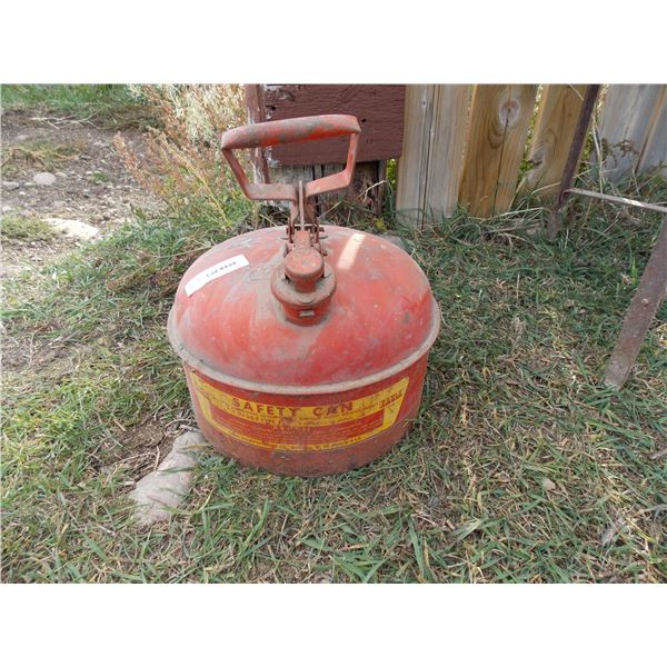 safety gas can with handle