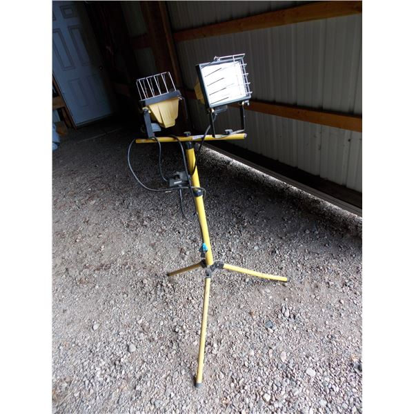 worklight on stand