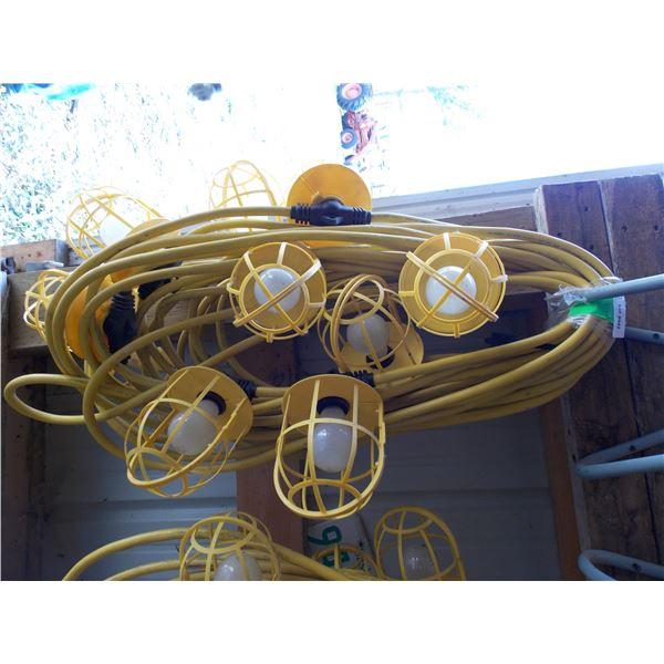 heavy duty light on cord strings