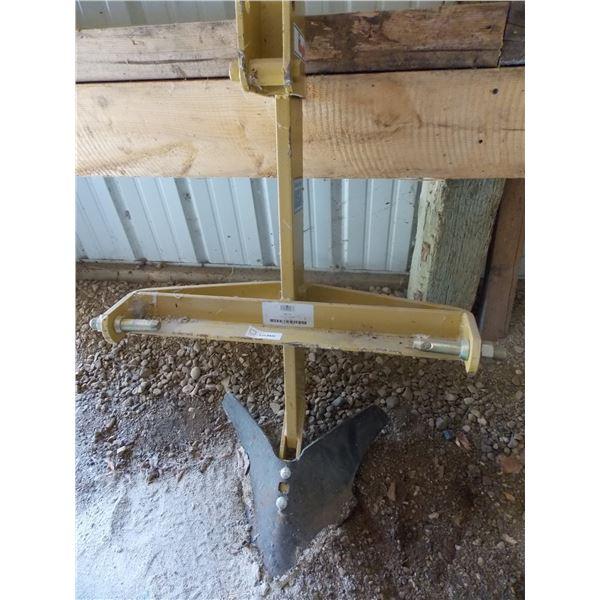 king kutter 3 point hitch single furrow plow