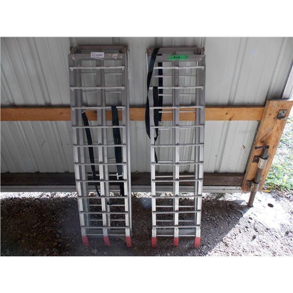 2X The Money - pair of aluminum folding ramps