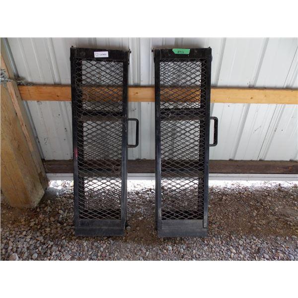 2X The Money - pair of steel folding ramps