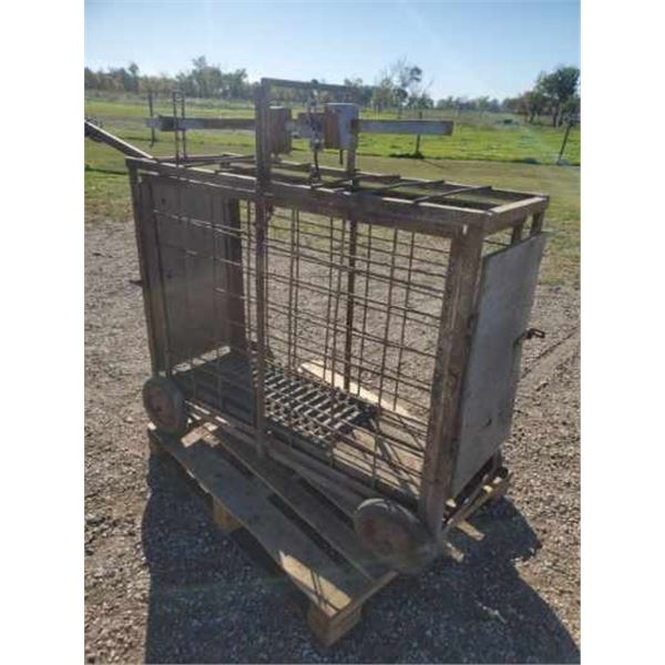 Animal Scale up to 250 lbs - doors on both ends