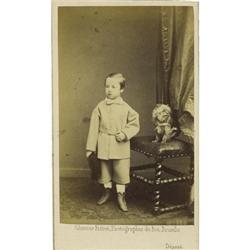 Prince Leopold of Belgium, Duke of Brabant CDV