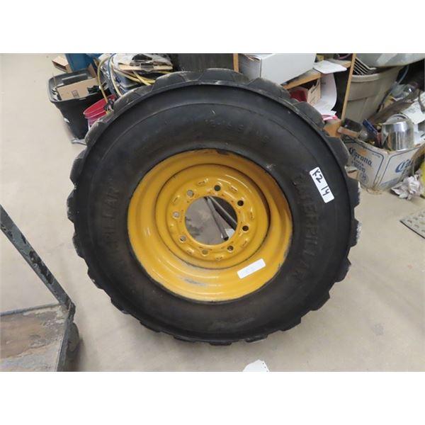 Skid Steer Tire & Rim 12-16.5