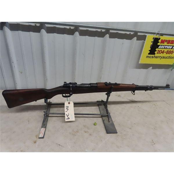 """Czech - Brno 1908/34 BA 30-06 BL=22"""" S#0316 Brazilian Mauser Missing a Few Sling Swivels - Very Clea"""