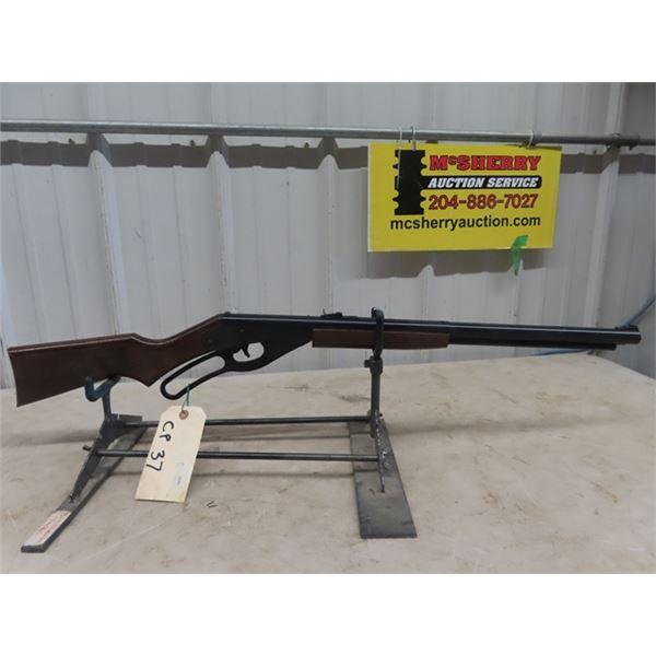 Daisy 1938 B LA BB Gun, Red Ryder BB Rifle Newer One Plastic Lever