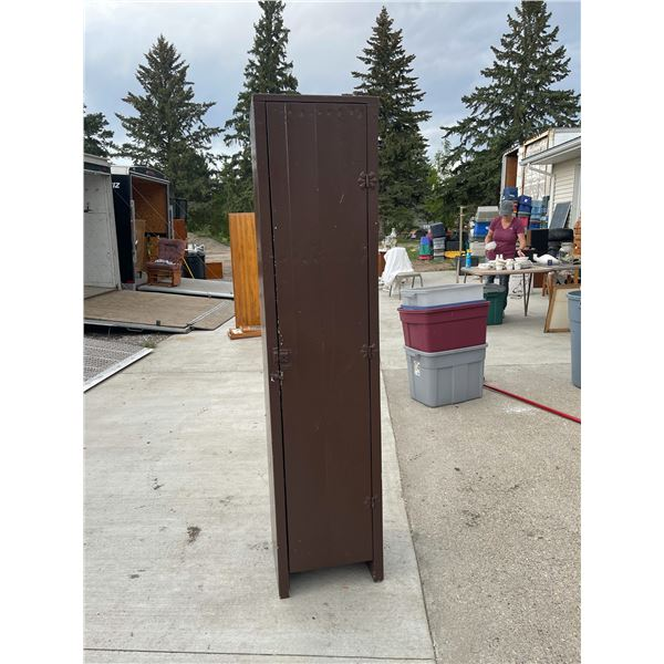 SOLID WOOD TALL CABINET!