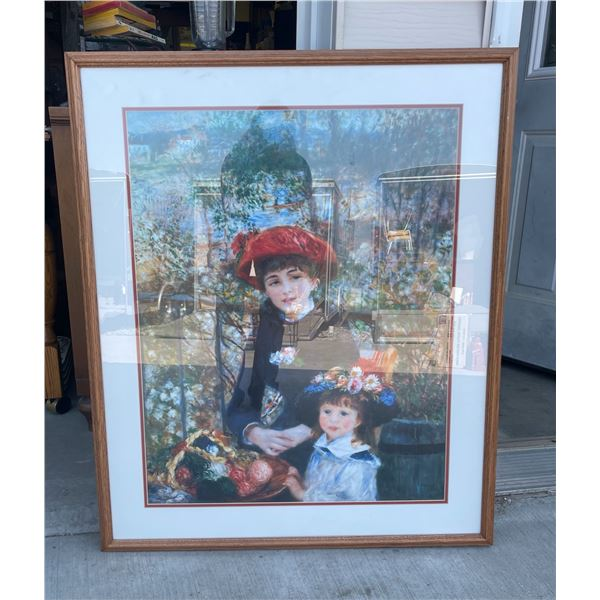 """RENOIR """"TWO SISTERS (ON THE TERRACE)"""" PRINT"""