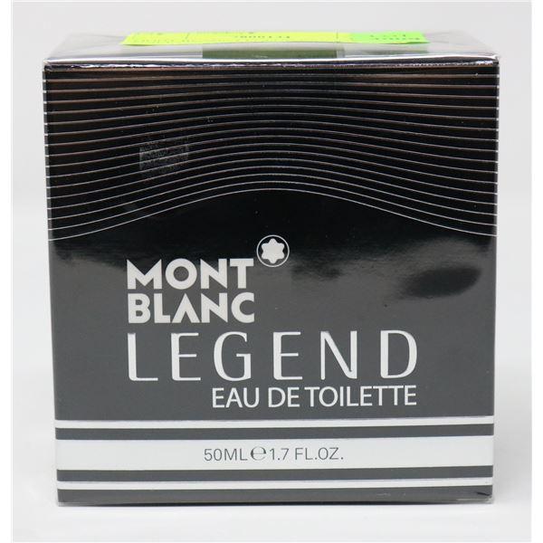 MONT BLANC LEGEND EAU DE TOILETTE 50ML