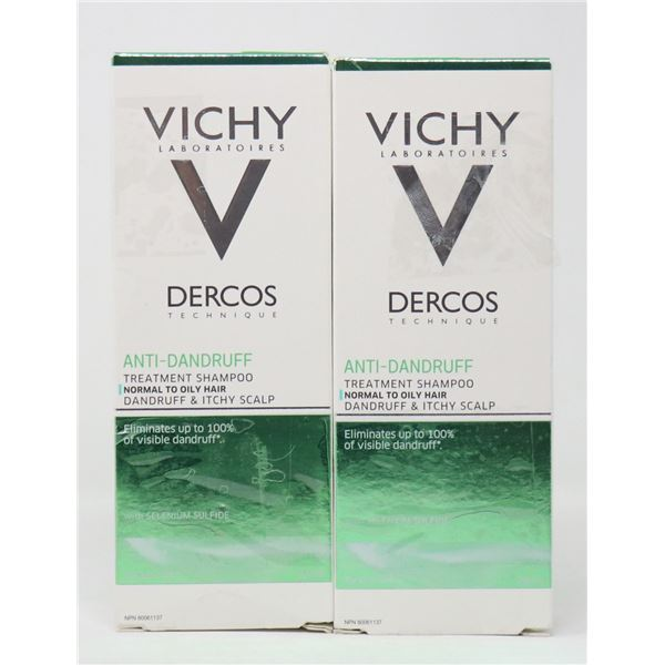 2 BOXES OF VICHY DERCOS ANTI-DANDRUFF TREATMENT