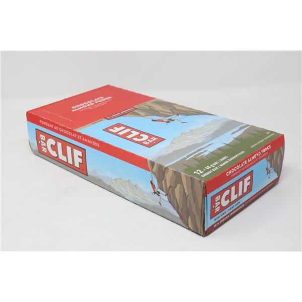 CASE OF CLIF CHOCOLATE ALMOND FUDGE ENERGY BARS