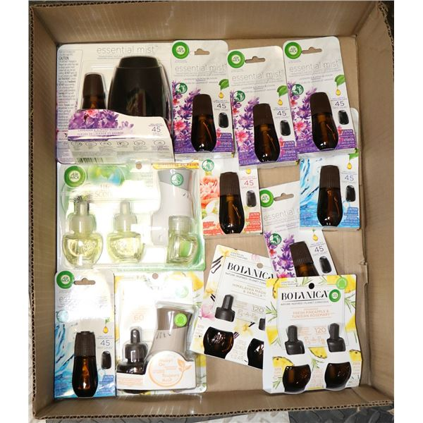 FLAT LOT OF ASSOTED AIR FRESHENERS