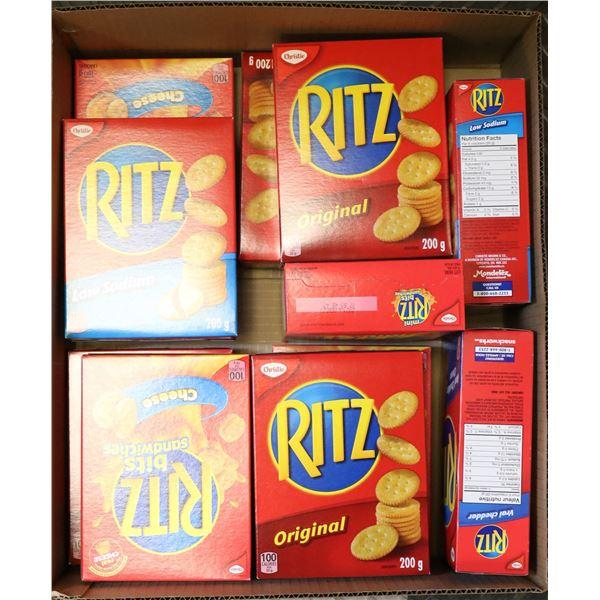 FLAT LOT OF RITZ CRACKERS