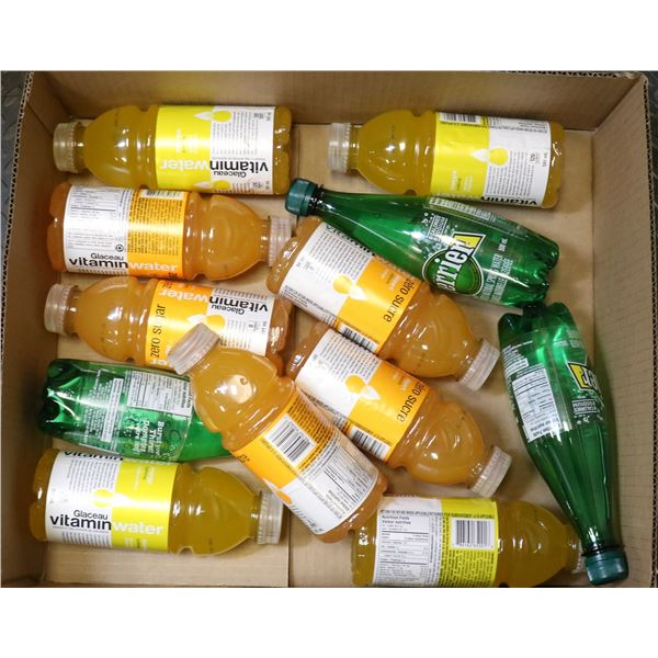 FLAT LOT OF VITAMIN & SPARKLING WATER