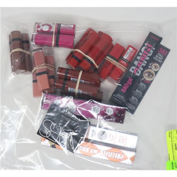 BAG LOT OF ASSORTED COSMETIC ITEMS