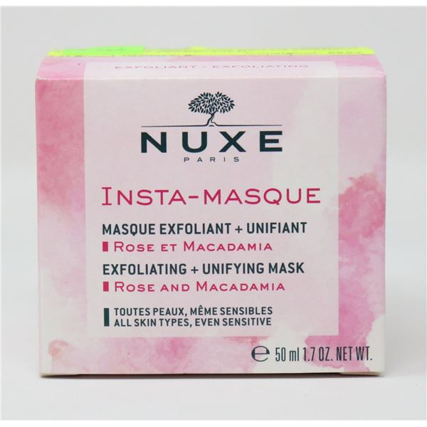 NUXE INSTA MASQUE EXFOLIATING + UNIFYING MASK 50ML