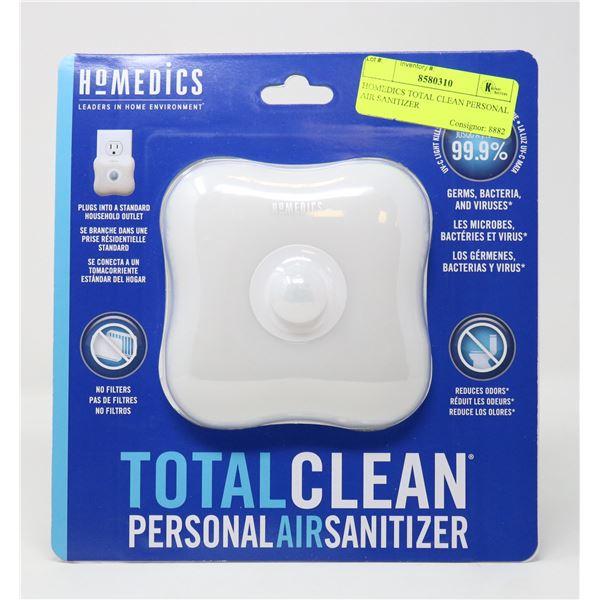 HOMEDICS TOTAL CLEAN PERSONAL AIR SANITIZER