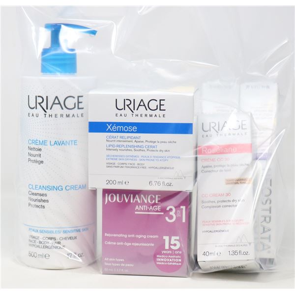 BAG LOT OF BRAND NAME SKIN CARE BEAUTY PRODUCTS