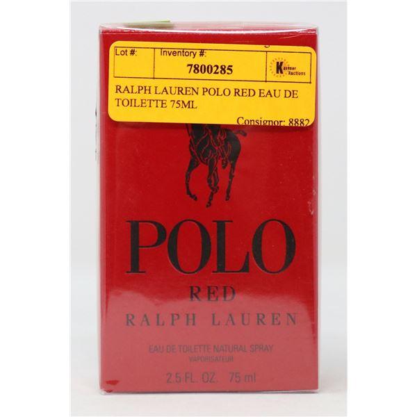 RALPH LAUREN POLO RED EAU DE TOILETTE 75ML