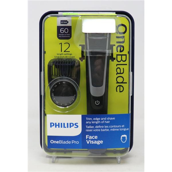 PHILIPS ONE BLADE PRO ELECTRIC TRIMMER & SHAVER