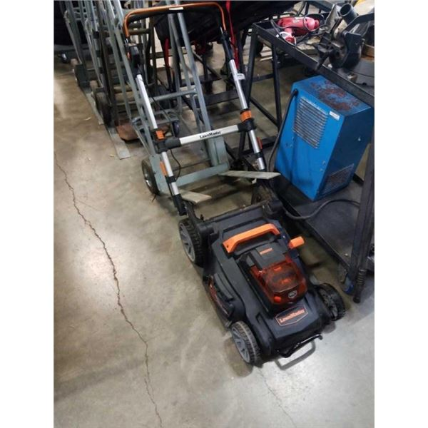 LAWNMASTER CORDLESS LAWNMOWER - NO CHARGER