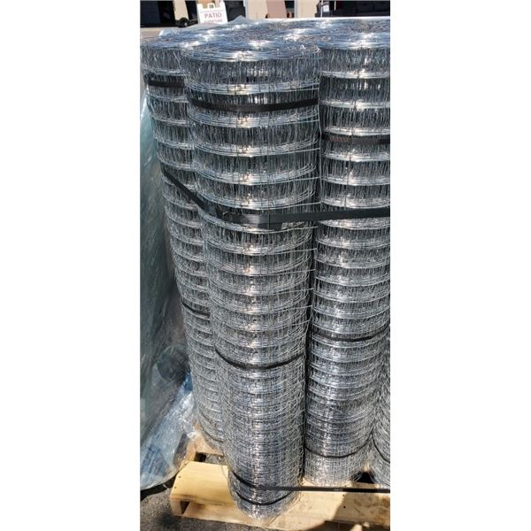 """2 ROLLS OF 48"""" TALL MESH FENCING VARYING LENGTHS"""