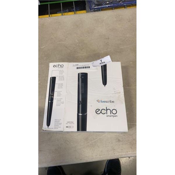 LIVESCRIBE ECHO 2GB SMARTPEN - WORKING