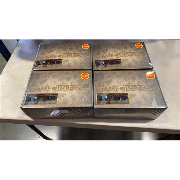 4 SEALED GAME OF THRONES LOOT BOXES