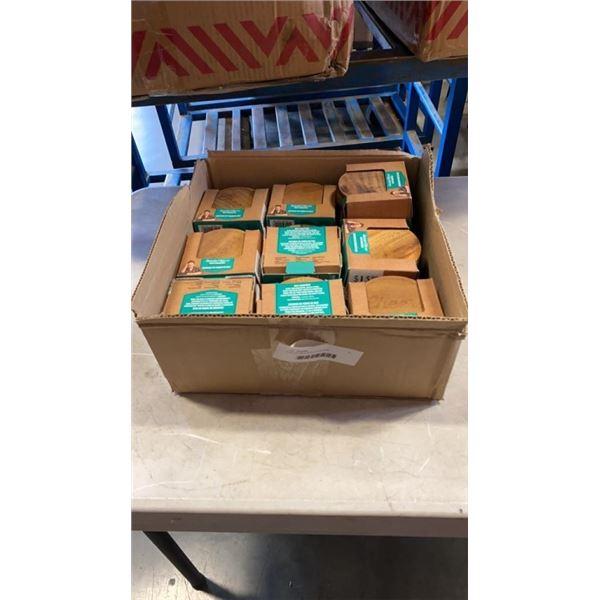 BOX OF NEW BAR COASTERS