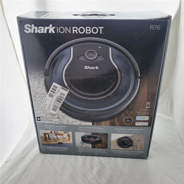 SHARK ION ROBOT R76 VACUUM WORKING
