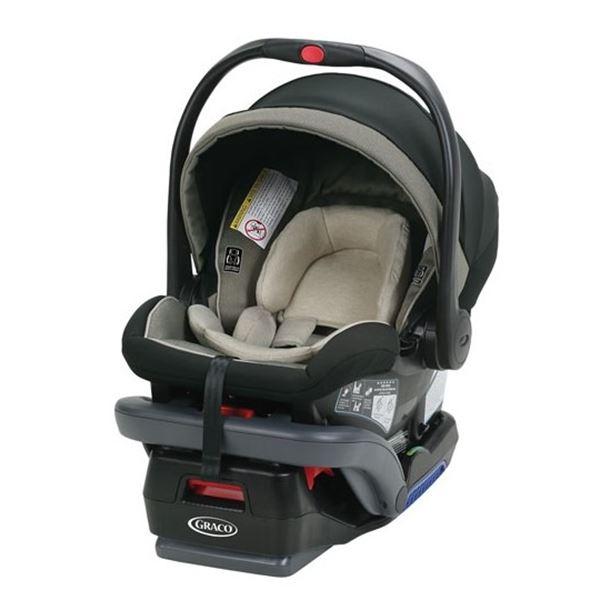 NEW GRACO SNUGRIDE SNUGLOCK 35 DLX INFANT CAR SEAT - RETAIL $329.99
