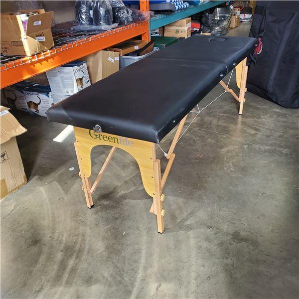 GREENLITE FOLDING MASSAGE TABLE RETAIL $169