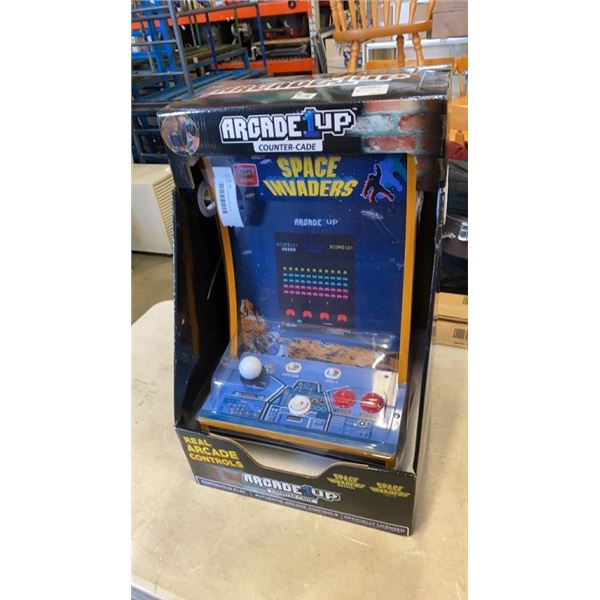 NEW ARCADE UP SPACE INVADER COUNTER CADE GAME