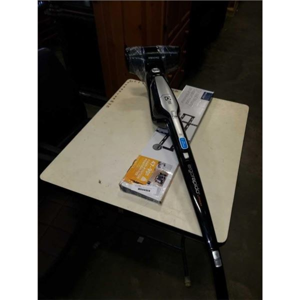 """INSIGNIA 47""""-90"""" FIXED TV MOUNT AND ELECTROLUX CORDLESS VACUUM WORKING WITH CHARGE DOCK"""