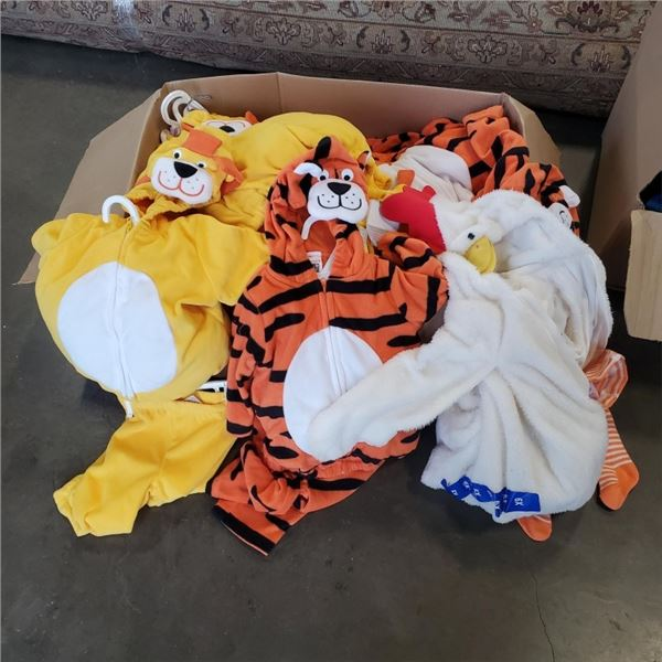 LOT OF 12 NEW INFANT/TODDLER COSTUMES 6M-24M
