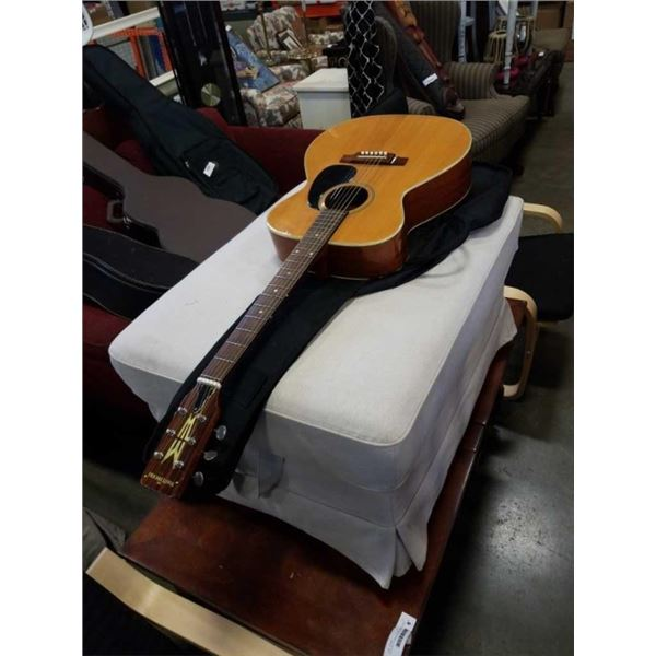 CBS MASTERWORKS F-10 ACOUSTIC GUITAR WITH SOFT CASE