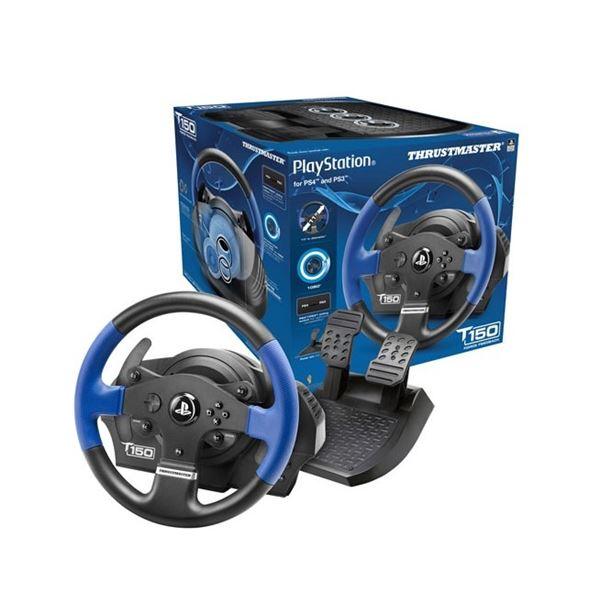 THRUSTMASTER T150 FORCE FEEDBACK RACING WHEEL FOR PS4/PS3/PC - WORKING