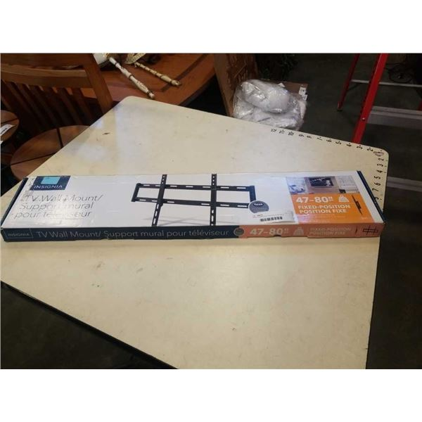 NEW OVERSTOCK INSIGNIA 47-80 INCH FIXED POSITION TV WALL MOUNT