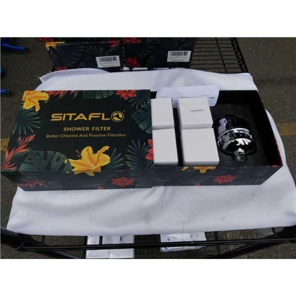 NEW SITAFLO SHOWER FILTER - CHLORINE AND FLUORINE FILTRATION