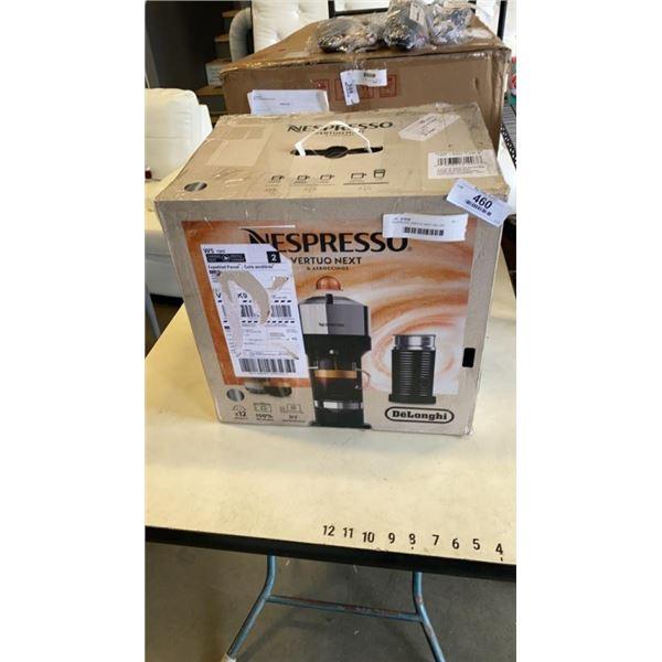 NESPRESSO VERTUO NEXT DELUXE COFFEE AND ESPRESSO MACHINE W/ AEROCCINO