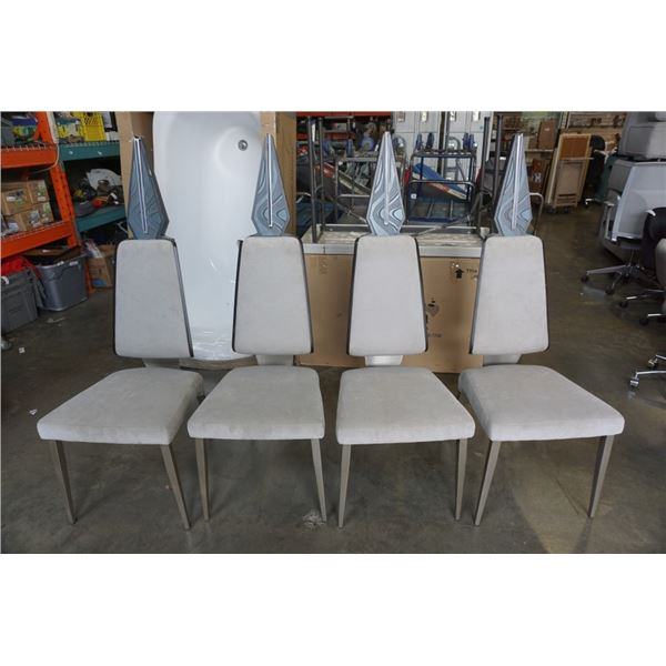 4 MOVIE PROP DINING CHAIRS