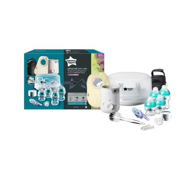 TOMMEE TIPPEE ADVANCED ANTI-COLIC COMEPLETE BABY FEEDING SET