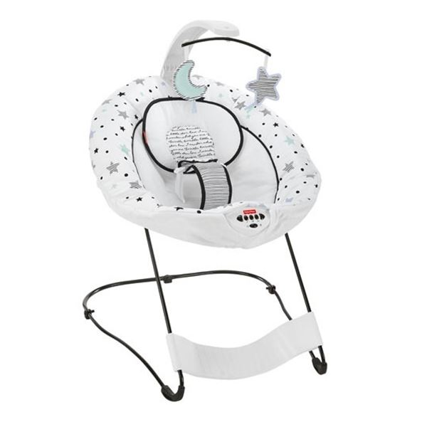 FISHER-PRICE SEE AND SOOTHE DELUX BOUNCER - WORKING