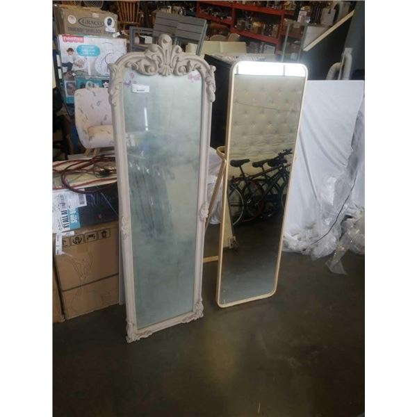 MAPLE FRAMED DRESSING MIRROR FREE STANDING AND DECORATIVE DRESSING MIRROR